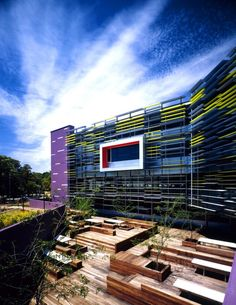 EDITH COWAN UNIVERSITY . NEW LIBRARY BUILDING IN PERTH, AUSTRALIA
