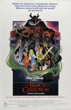 """Movie Posters:Animated, The Black Cauldron (Buena Vista, 1985). One Sheet (27"""" X 41""""). WaltDisney went all out in the making of their 25th animated..."""
