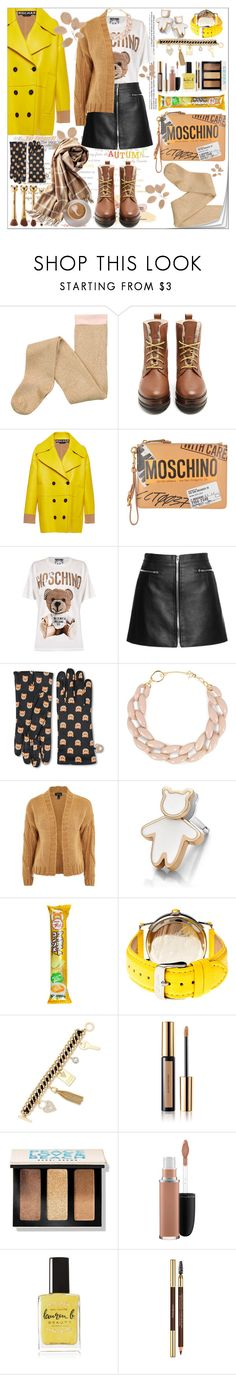 """Untitled #142"" by shewalksinsilence ❤ liked on Polyvore featuring Weekend Max Mara, Rochas, Moschino, DIANA BROUSSARD, Topshop, Kenny & Co., GUESS, Yves Saint Laurent, Bobbi Brown Cosmetics and MAC Cosmetics"