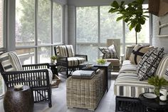 The timelessness of screened porches - The Washington Post