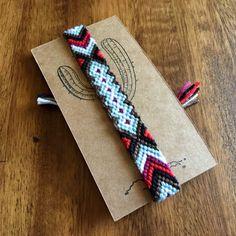 Southwestern woven macrame bracelet