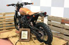 moto special honda dominator -
