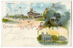 Königsberg (Pr.), Tiergarten, Promenade, Forsthaus und Bären-Zwinger