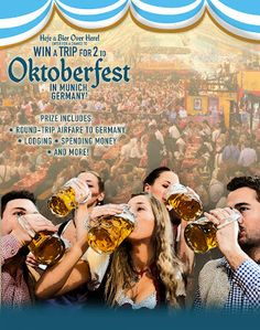 MichaelW Travels...: Win A Trip for Two to Oktoberfest
