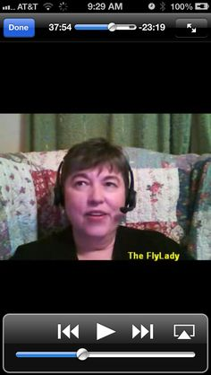 A 2011 interview with our FlyLady, just wanted to share as she speaks about getting started, God Breezes, Baby Steps and of course....Shining Your Sink. Put it on your mobile device and listen while FLYing