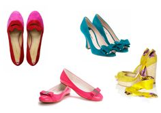 pretty bright shoes