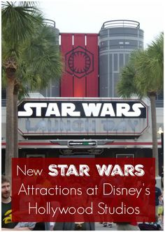 New Star Wars Attractions at Walt Disney World's Hollywood Studios