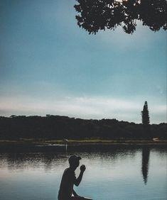 #reflection #photography #camera #river #sky #lightroom #silhouette Reflection Photography, Photography Camera, Lightroom, Silhouette, Sky, River, Mountains, Nature, Heaven
