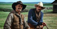 Keith Carradine and Tom Selleck star in Monte Walsh.