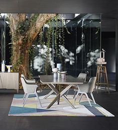 Roche Bobois   Agape dining table, designed by Sacha Lakic   Spring ...