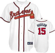 c4bc64abbdd ... Atlanta Braves Tim Hudson 15 White Replica Jersey Sale ...