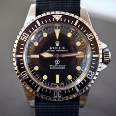 """For sale from @tempus2 is this @rolex Military Ref 5513. See all the trusted offers on www.RolexPassionMarket.com """