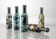Taste of Greece — The Dieline Bottle Packaging, Food Packaging, Packaging Design, Graphic Design Projects, Communication Design, Web Inspiration, Greece, Beverages, Wine Labels