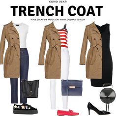 Trench Coat Outfit For Spring activation trends Source by kklodizz Coats gabardina Mode Outfits, Fashion Outfits, Womens Fashion, Casual Winter Outfits, Spring Outfits, Trent Coat, Trenchcoat Style, Trench Coat Outfit, Coats For Women