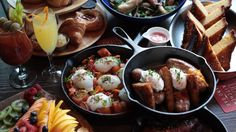 The Big Bowery Brunch is a family-style spread...