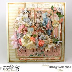 Gilded Lily Planner Cover #graphic45 #gildedlily #album