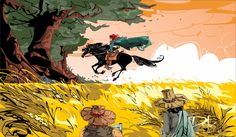 Riding Keth-Selhan by dejan-delic - Kingkiller Chronicle fan? Visit www.facebook.com/eoliantavern