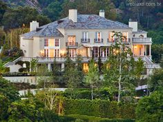 Web Luxo - Imobiliário: Mansão em Los Angeles