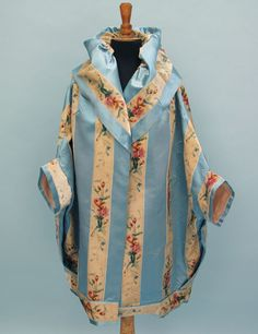 #mid-19th century silk ribbon with velvet fabric striped evening coat  Fashion #2dayslook #fashion #new #nice www.2dayslook.com