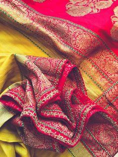 Fresh New Bridal Lehenga & Bridal Saree Designs by Ayush Kejriwal! Benarsi Saree, Saree Dress, Anarkali, Sabyasachi, Shaadi Lehenga, Bridal Lehenga, Saree Wedding, Wedding Wear, Wedding Attire