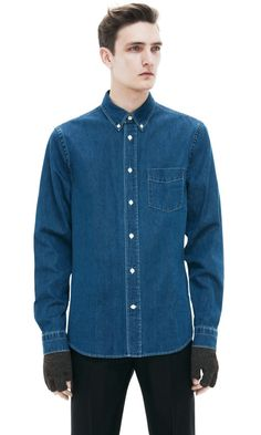 Isherwood Den Washed denim