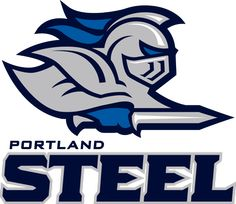 Introducing the Portland Steel — same Arena Football team, different name, Local Sports, Portland local Sports, Breaking Sports alerts for Portland city. Fantasy Football Logos, Football Team Logos, Sports Team Logos, Football Helmets, Sports Teams, American Football, Arena Football, Knight Logo, Lion