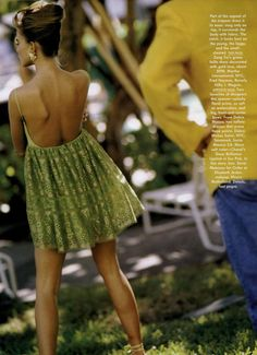 In Living Color The New Coquettes Editorial from Vogue Magazine, February 1991.