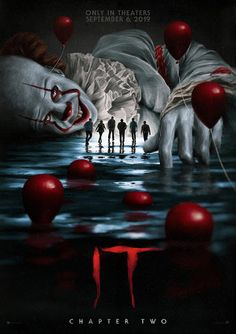 Movie: It Chapter Two Movie: It Chapter Two 27 years after overcoming the malevolent supernatural entity Pennywise, the former members of the Losers Club, who have grown up and moved away from Derry, are brought back together by a devastating phone call. Horror Movie Characters, Horror Movie Posters, Horror Movies, Comedy Movies, Snoopy Halloween, Horror Show, Horror Art, Es Stephen King, Scary Wallpaper