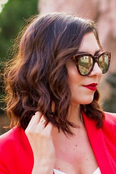 Clavi Cut, Messy Longbob New short hairdo, short hairstyle, Beach waves, ombre hair
