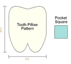 DIY: Tooth Fairy pillow pattern  It's about time for my sweet Soph to need one of these! I better get busy!