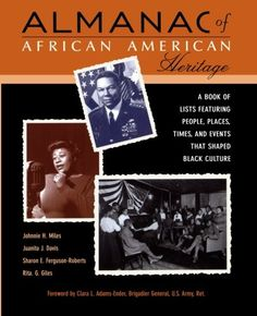 #DAILYBLACKHISTORY Almanac African American Heritage: Chronicle by Johnnie H. Miles CLICK TO READ MORE