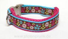 Anleitung: Halsband mit Polsterung selber machen - Pfotenprunk - Nähbedarf und Hundezubehör