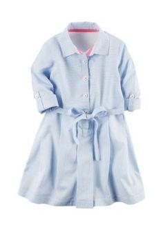 Carters  Abbot Striped Dress Girls 4-6x