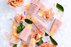 Jaqueline Alwill's raspberry mango and vanilla icy poles