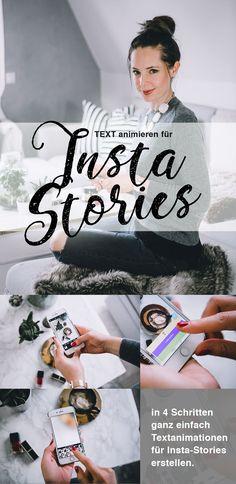 Instagram Stories individuell gestalten, Text Animationen für Instastories, App Hype Type für Instagram und Facebook Fotos und Video