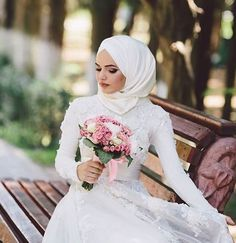 Gorgeous Hijab Wraps To Try On Your Wedding Day