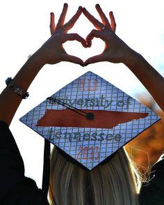 Sigma Kappa  College Graduation University of Tennessee UT Grad Cap Rocky top Sorority Girl KristinBlankenship