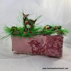 """Léa Stansal """"Petit faon aime les fraises des bois"""""""