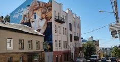 Харьковский стрит-арт деятелей культуры.
