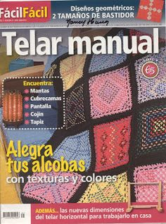 Revistas de Manualidades Para Descargar: Telares Nº 21 Tablet Weaving, Card Weaving, Inkle Loom, Loom Weaving, Knitting Magazine, Weaving Projects, Tapestry Weaving, Loom Knitting, Blanket