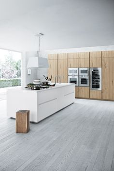 Keuken inspiratie | Combinatie van 2 verschillende keukenfronten voor een levendige keuken