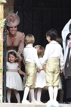 Prince George Looks Just Like Dad Prince William as He Rides Out of Pippa Middleton's Wedding