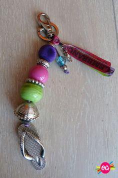 Porte-clefs et bijou de sac Tong Brésil