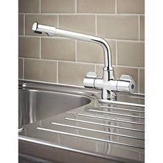Swirl Ceramic Disc Mono Mixer Kitchen Tap Chrome Mono mixer kitchen tap. Chrome-plated brass. 2 year manufacturers guarantee. http://www.MightGet.com/january-2017-13/swirl-ceramic-disc-mono-mixer-kitchen-tap-chrome.asp