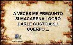 !! EEEEEEEY … Macarena !!