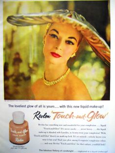 Vintage Revlon Magazine Advertisment/Touch and by mamiezvintage, $9.95