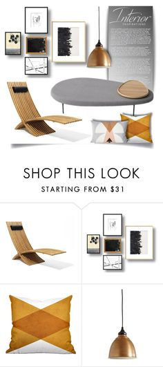 """Interior Space, Streamlined"" by pattykake ❤ liked on Polyvore featuring interior, interiors, interior design, home, home decor, interior decorating, Marc, Dot & Bo and Ballard Designs"