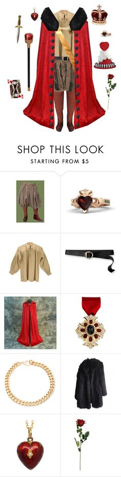 """""""Cardverse Germany-Hetalia"""" by conquistadorofsorts ❤ liked on Polyvore featuring Gemvara, Patagonia, Ben-Amun, Alessandra Rich and Sonia Rykiel"""