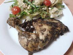 Kurczak z octem balsamicznym