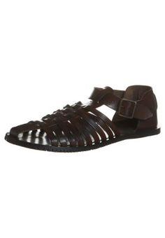 Sandalette - braun New Shoes, Sandals, Fashion, Get Tan, Moda, Shoes Sandals, Fashion Styles, Fasion, Sandal
